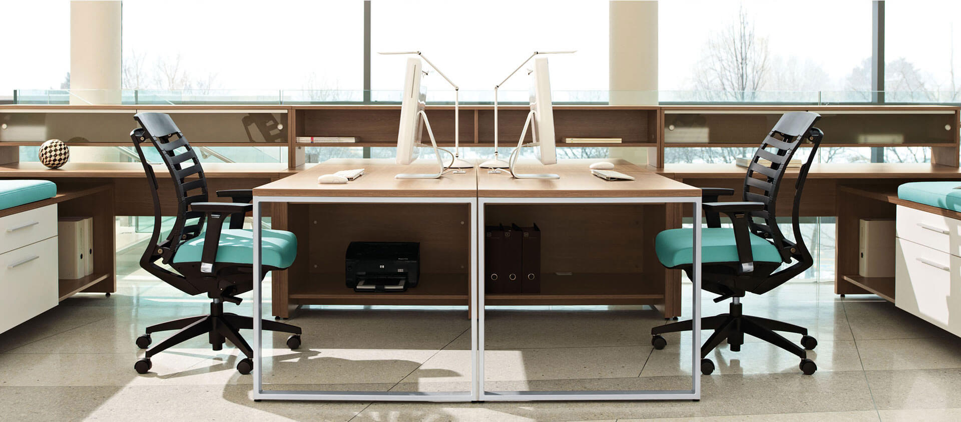 Global Office Furniture Reception Desk
